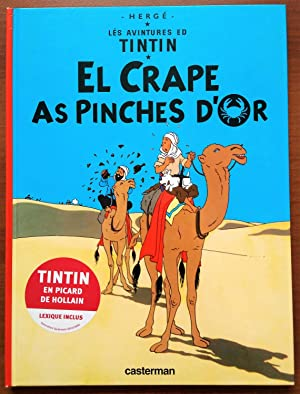 Tintin Foreign Language Book: En Picard de Hollain - The Crab with the Golden Claws (El Crape as ...