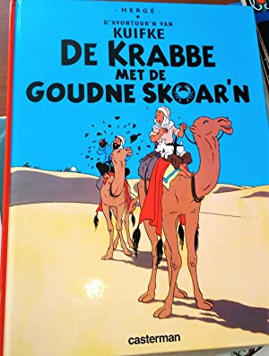 Tintin Foreign Language: Kortrijks (Belgian Dialect) - The Crab with the Golden Claws (De Krab Me...