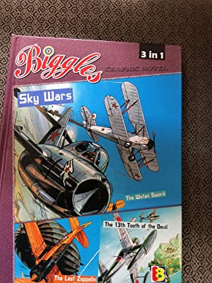 BIGGLES Sky Wars - 3 in 1 Hardcover book Capt. W E Johns' BIGGLES European Graphic Novels in Engl...