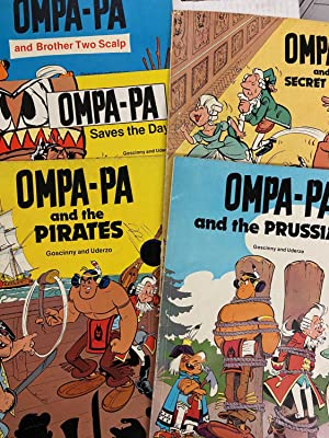 Set of 3 OMPA-PA Books - Ompa-Pa Saves the Day, Ompa-Pa and the Pirates and Ompa-Pa and Brother T...