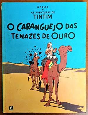 Foreign Language Tintin Book in Portuguese from Brazil: The Crab with the Golden Claws (O Carangu...