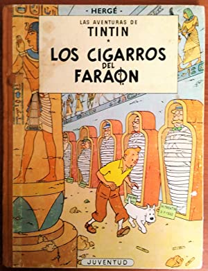 Tintin Foreign Language Book in Spanish from Spain: Cigars of the Pharaoh (Los Cigarros del Farao...