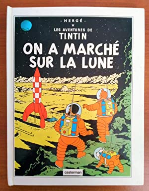 Foreign Language Tintin Book: French - Explorers on the Moon Pop-Up Book (On a Marché Sur la Lune...