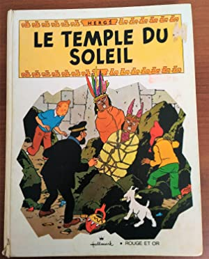 Foreign Language Tintin Book: French - Prisoners of the Sun Pop-Up Book (Le Temple du Soleil Pop-...