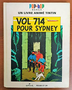 Foreign Language Tintin Book: French - Flight 714 Pop-Up Book (Vol714 Pour Sydney Pop-Hop) - Fore...