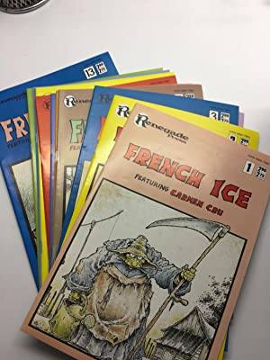 FRENCH ICE - Featuring Carmen Cru #1 -13 Complete Set of Comics (Scarce English translation of Eu...