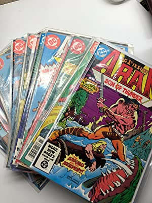 ARAK Son of Thunder - An almost compete set of 49 Comics Vol. 1 #1 -Vol 1 #49. (Created by Roy Th...