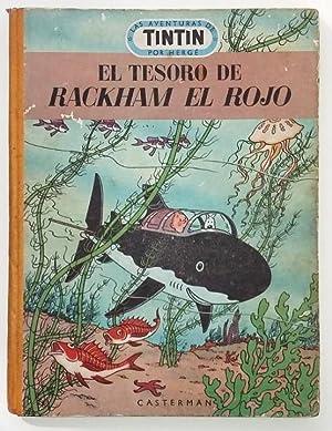 Tintin El Tesoro de Rackham el Rojo: Hergé (Georges Remi)