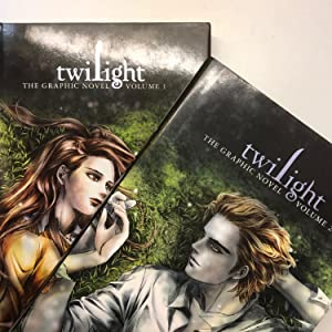 Twilight: The Graphic Novel, SET OF TWO Volume 1 and Volume 2 (The Twilight Saga)
