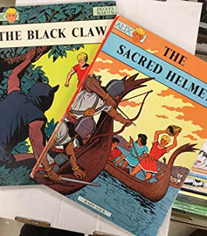 Complete set of 2 ALIX books published by Ward Lock 1971 - THE BLACK CLAW and THE SACRED HELMET (...