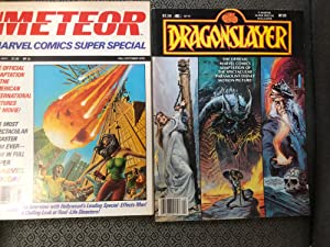 Set of 2 titles from Marvel's - Super Special Magazine - Film adaptations of (1) METEOR and (2) D...