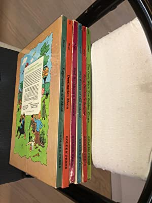 Complete set of The Adventures of TINTIN: Herge