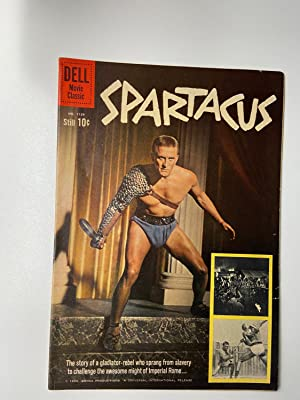 SPARTACUS - Dell Movie Classics. Four Color Comic - Number 1139 1960 - Adaptation of the classic ...