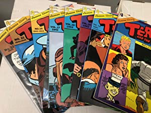 Terry and the Pirates Series- Set of 9 Graphic Novels: #1 Welcome to China!, #13, #15 The Return ...