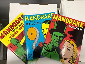 Mandrake set of 3 graphic novels: The Magician (Feature Book No. 18), The Magician (Feature Book ...