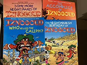 Iznogoud- A Matching Set of 5 Iznogoud Books IN ENGLISH from Euro Books India: Some More Nightmar...
