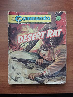 Commando Comic # 200: Desert Rat