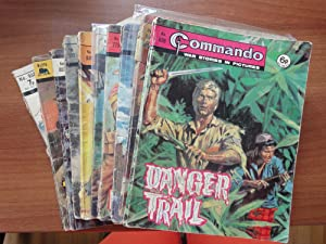 Commando: A Matching Set of 9 Comics