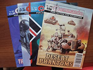 Commando: A Matching Set of 4 Comics