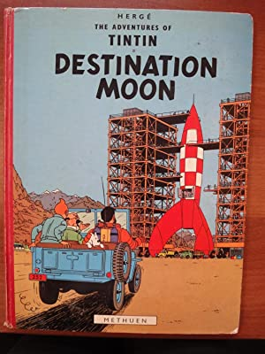 The Adventures of Tintin: Destination Moon - 1st Edition from Methuen