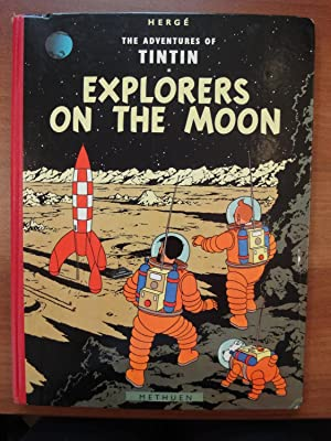 The Adventures of Tintin: Explorers on the Moon - 1st Edition from Methuen