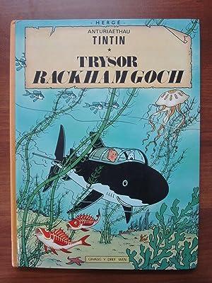 Tintin Book in Welsh (Wales): Trysor Rackham: Herge