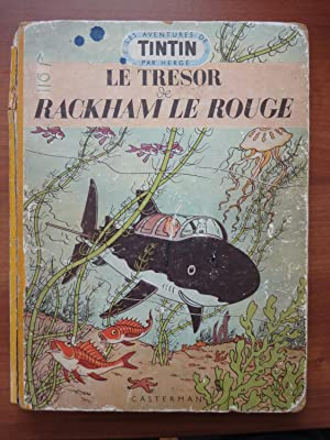 The Adventures of Tintin: MEDALLION EDITION in French: Le Tresor de Rackham le Rouge (Red Rackham...