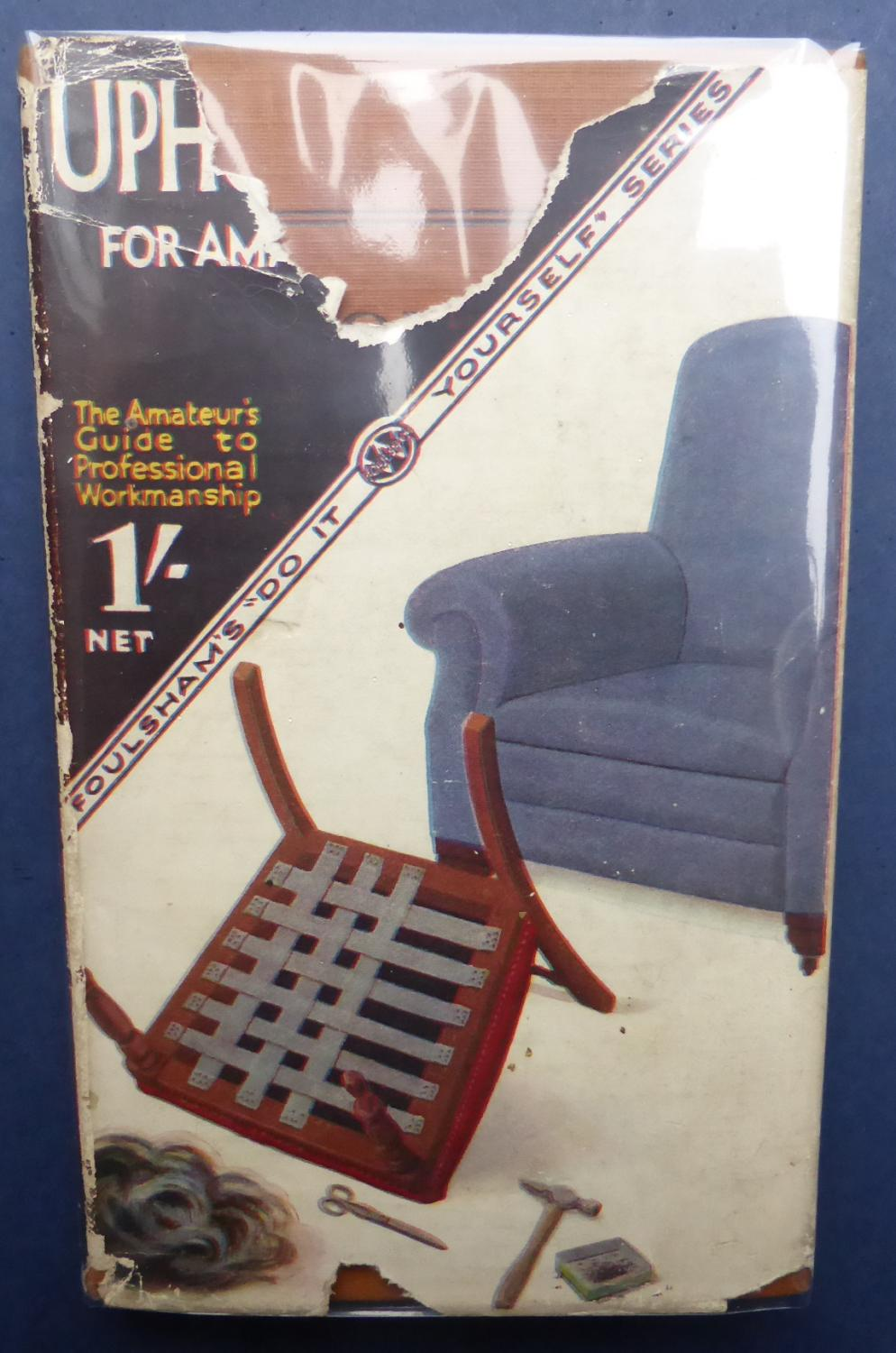 Upholstery for amateurs the do it yourself series de harding c w upholstery for amateurs the do it yourself series harding c solutioingenieria Images