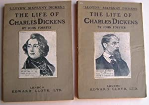 The Life of Charles Dickens - 2 Volumes - Lloyd's Sixpenny Dickens