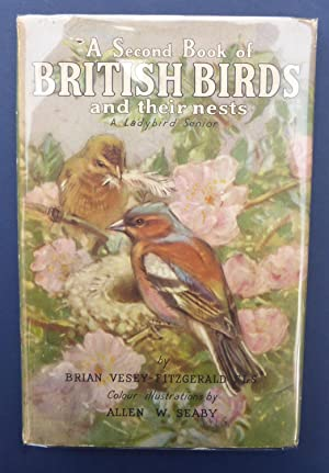 A Second Book of British Birds & Their Nests - A Ladybird Senior Series 536