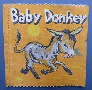 Baby Donkey - Birks-Craftproduction Cloth Rag Book