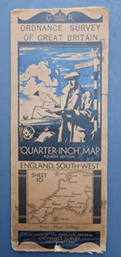 Ordnance Survey of Great Britain Qurter Inch