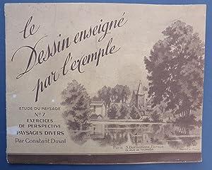 Le Dessin Enseigne Par L'Exemple - Etudes: Duval, Constant