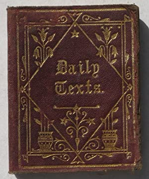 Daily Texts with Verses of Hymns - Adapted for General Use & Suited for Every Year - Pocket ...