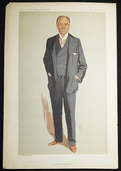 """Captain the Hon. Henry Denison"" (Men of the Day, no. 2301) -- Vanity Fair Supplement, Dec...."