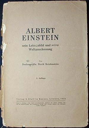 Albert Einstein: Sein Lebensbild und seine Weltanschauung: Reichinstein, David