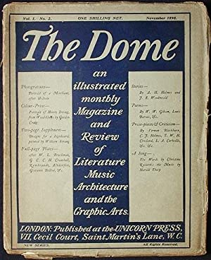 The Dome: An Illustrated Monthly Magazine and Review of Literature, Music, Architecture, and the ...