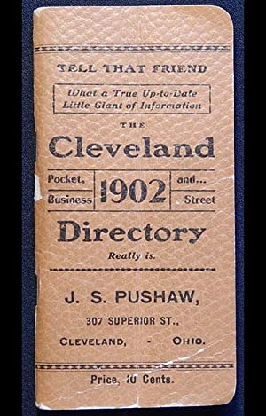The Cleveland Pocket, Business and Street Directory 1902