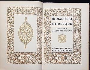 Romancero Moresque; traduction de Alexandre Arnoux: Arnoux, Alexandre