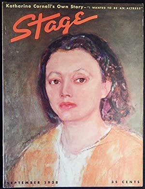 Stage: The Magazine of After-Dark Entertainment -- September 1938 vol. 15 no. 12 [Katharine Cornell...