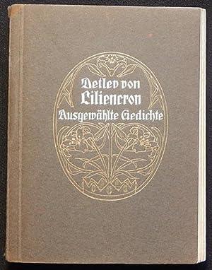 Ausgewählte Gedichte von Detlev von Liliencron [provenance: Titia Gorter]: Liliencron, Detlev ...
