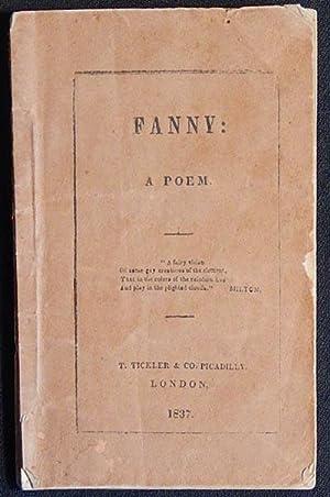 Fanny: A Poem: Halleck, Fitz-Greene