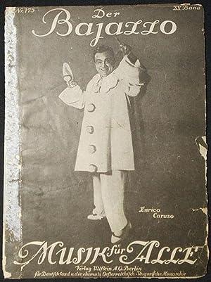 Musik für Alle: Der Bajazzo von Ruggiero Leoncavalla [parts I and II] [Nr. 175, Nr. 176 XV. ...