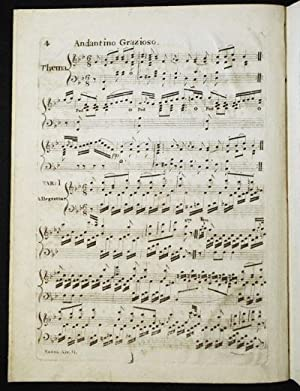 Saxon Air!: Introduction and Variations for the Piano-Forte; performed by Mr. Etienne at Mr. Gilles...