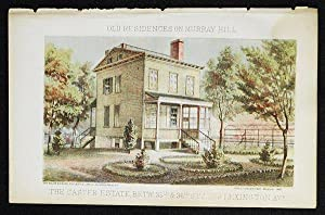 The Caster Estate Betw. 35th & 36th St's and Lexington Avs. [chromolithograph from Valentine's Ma...