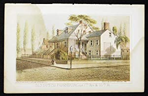 Old Dutch Farmhouse, cor. 7th Ave. & 50th St. [chromolithograph from Valentine's Manual of the Co...