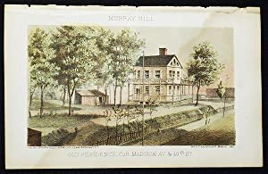 Old Residence, cor. Madison Av. & 40th St. [chromolithograph from Valentine's Manual of the Corpo...