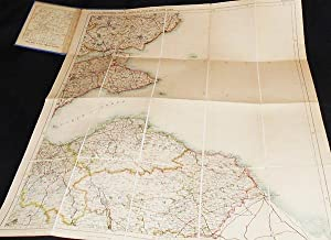 "W. & A.K. Johnston's New ""Three Miles to Inch"" Map of Scotland Colored for ..."