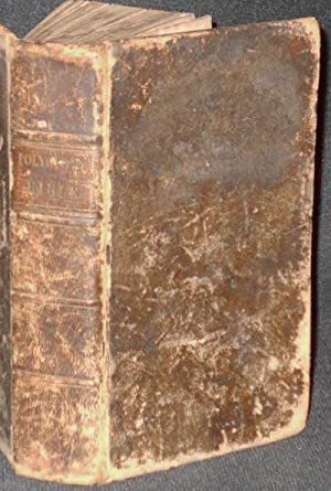 The English Version of the Polyglott Bible, containing the Old and the New Testaments; with the M...
