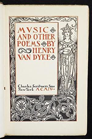 Music and Other Poems by Henry van: Van Dyke, Henry